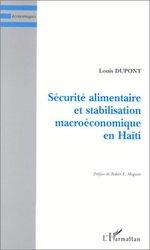 Vente Livre Numérique : SÉCURITÉ ALIMENTAIRE ET STABILISATION MACROÉCONOMIQUE EN HAÏTI  - Louis Dupont