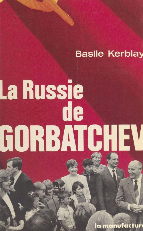 Russie de gorbatchev