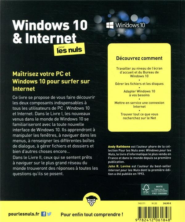 Windows 10 et internet pour les nuls (6e édition)