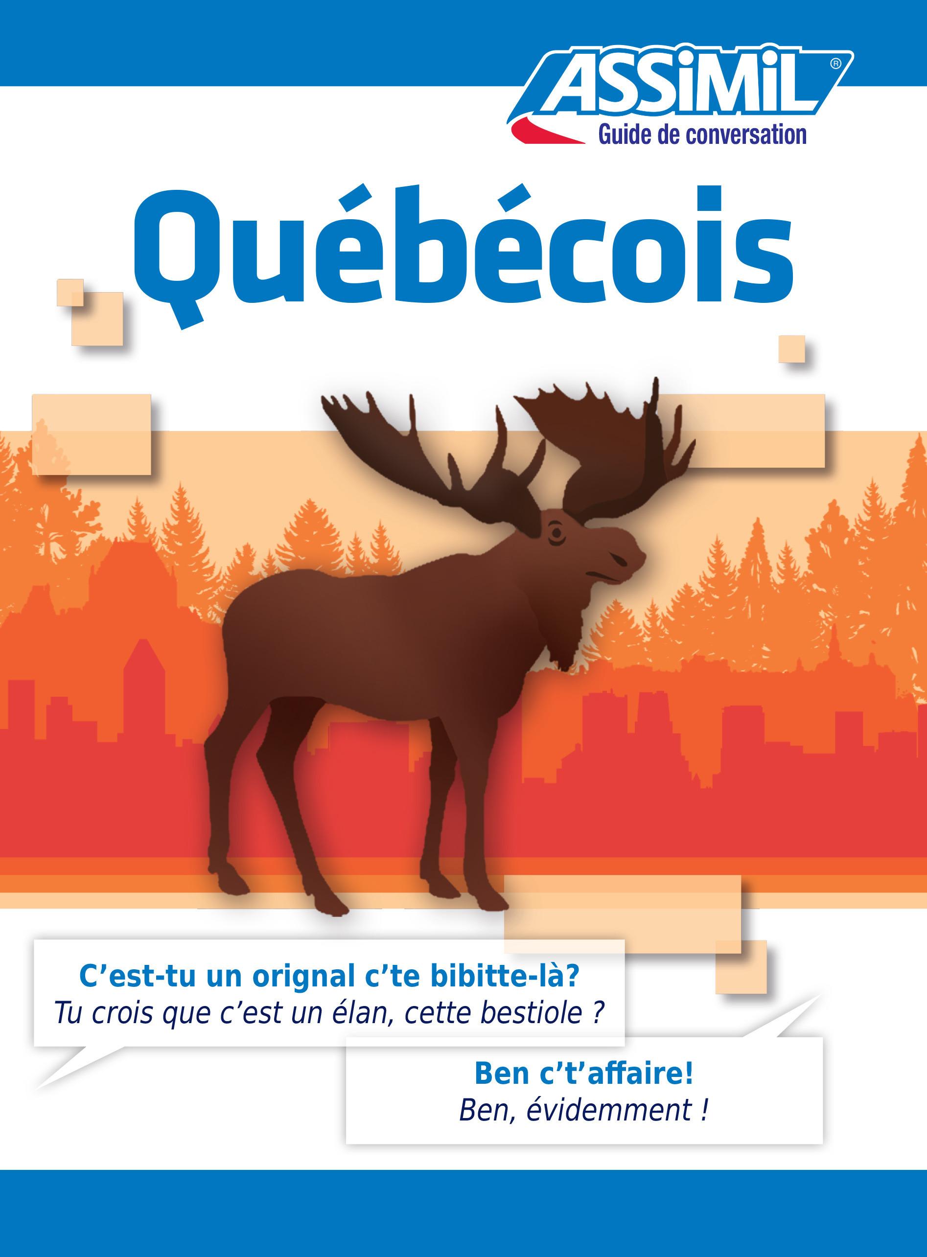 GUIDES DE CONVERSATION ; québécois