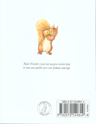 Noisette l'ecureuil
