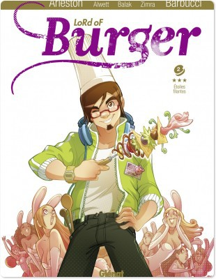 lord of burger t.2 ; étoiles filantes