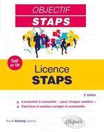 Vente EBooks : Tout-en-un STAPS - Licence STAPS - 2e édition
