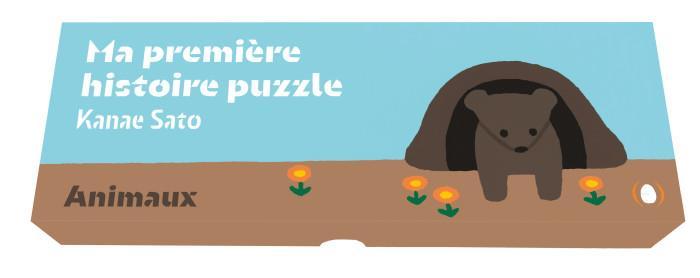 Ma première histoire puzzle ; animaux