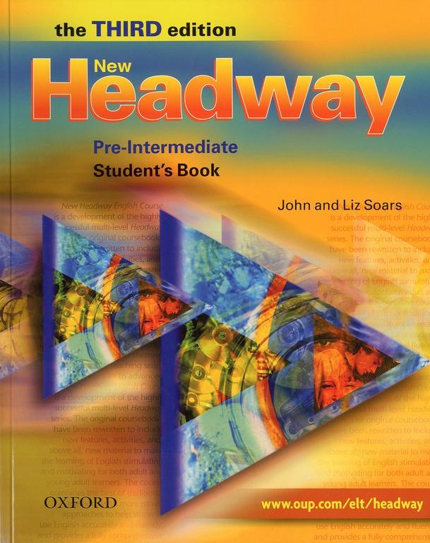 New headway ; pre-intermediate ; livre de l'élève (3e édition)