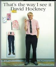 David hockney that's the way i see it /anglais