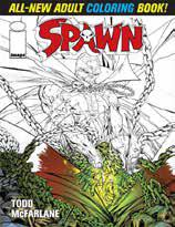 Spawn ; adult coloring book