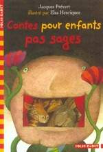 Couverture de Contes pour enfants pas sages