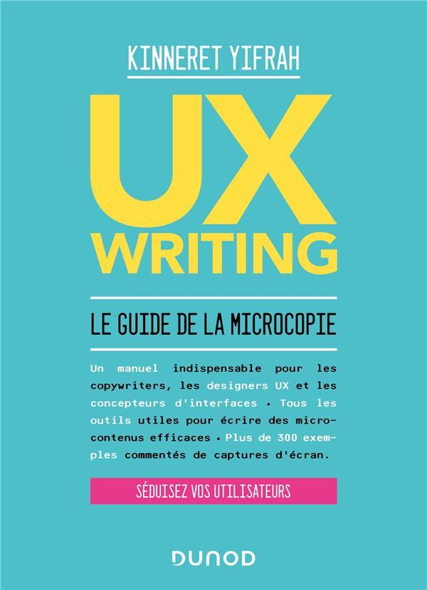 UX writing ; le guide de la microcopie