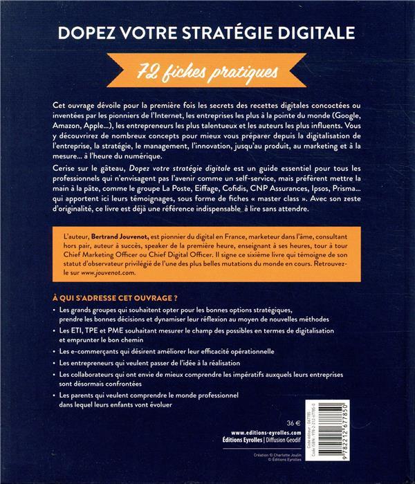 Dopez votre stratégie digitale ; 72 fiches pratiques