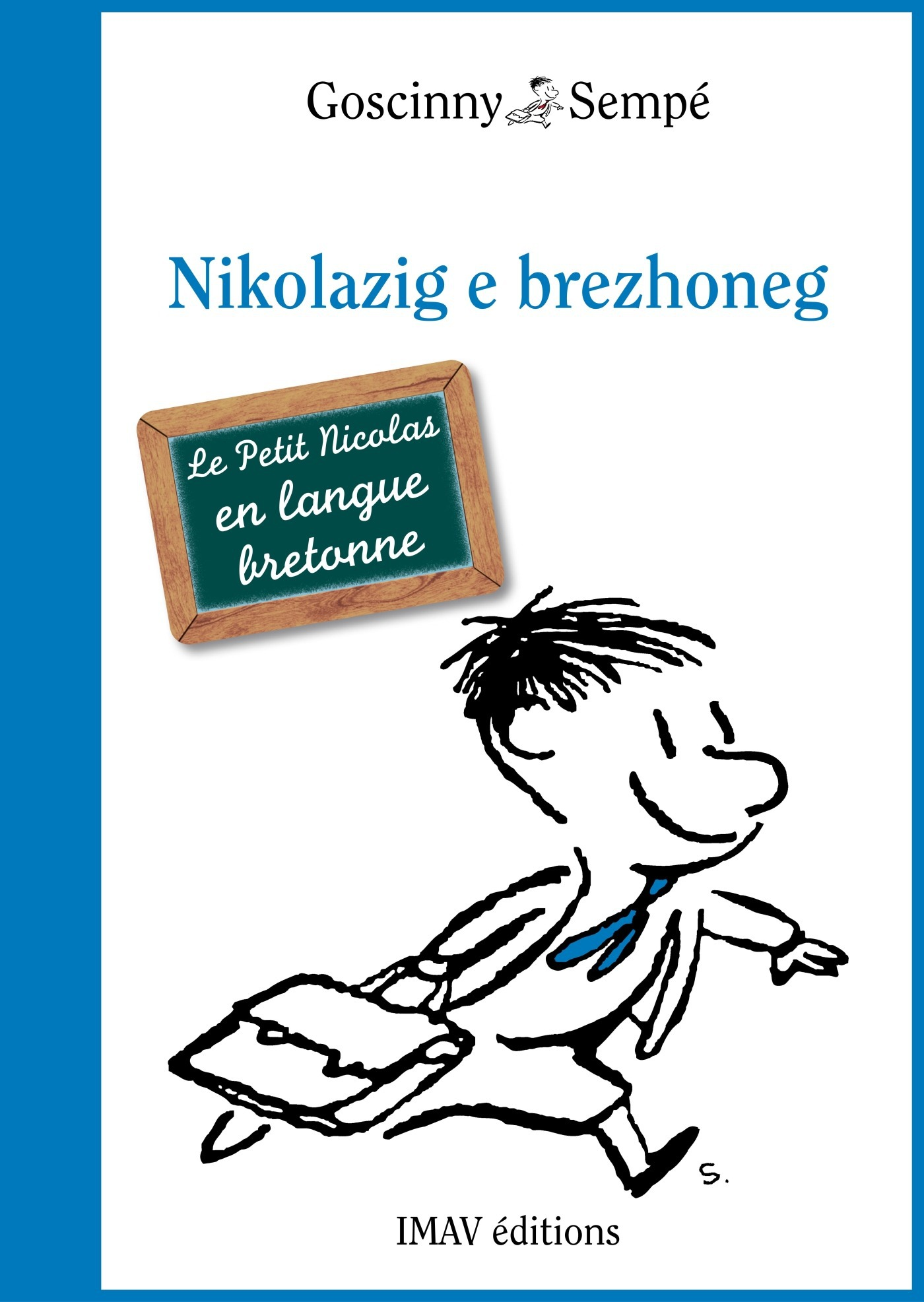 Le Petit Nicolas ; le petit Nicolas en langue bretonne