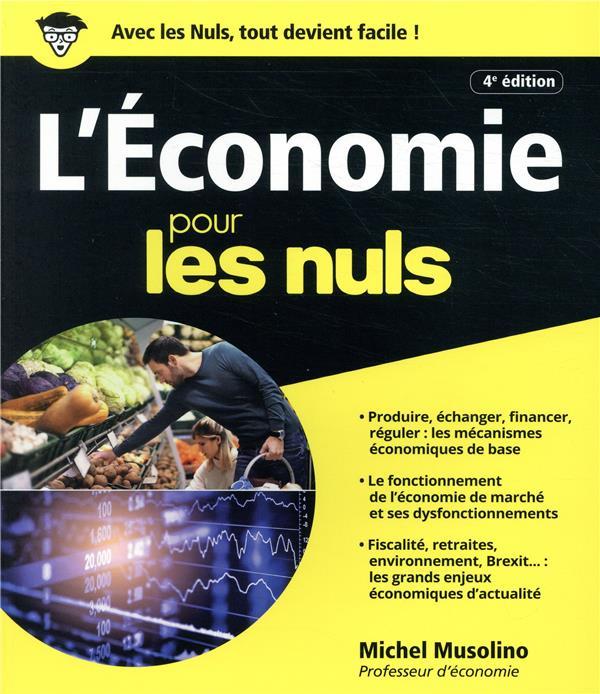 L'économie pour les nuls (4e édition)