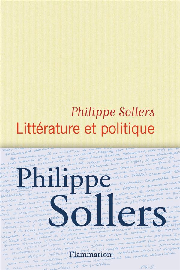 Litterature Et Politique