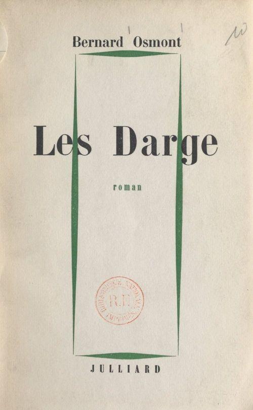 Les Darge  - Bernard Osmont