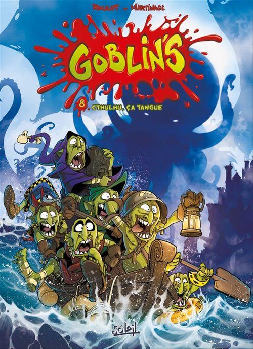 Goblin's t.8 ; Cthulhu, ça tangue