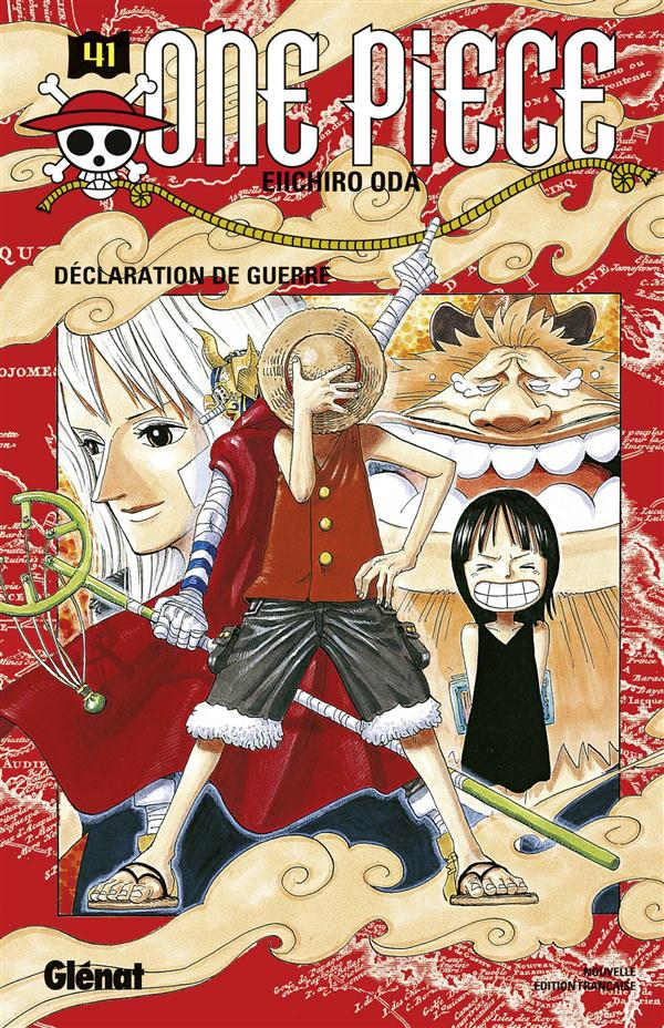 ONE PIECE - EDITION ORIGINALE - TOME 41 - DECLARATION DE GUERRE Oda Eiichiro