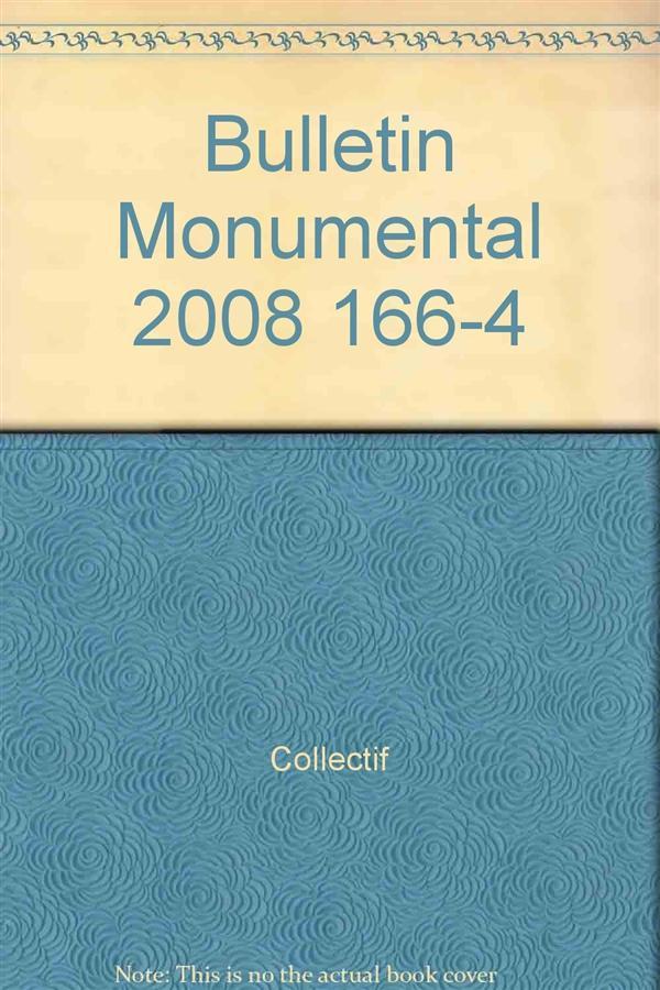 Bulletin monumental n.166/4