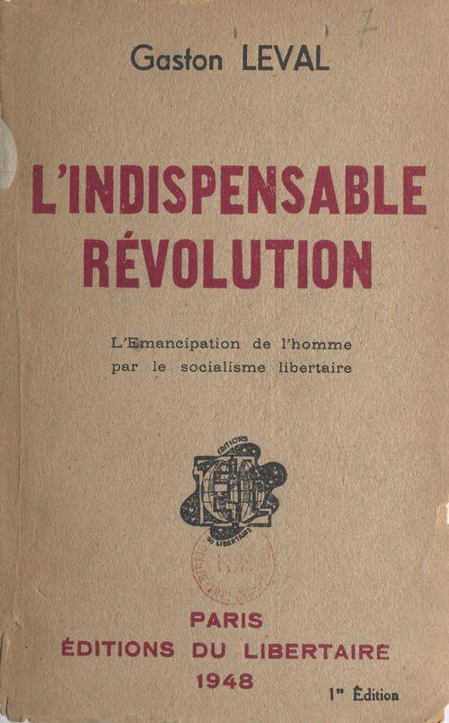 L'indispensable révolution