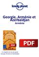 Géorgie, Arménie et Azerbaïdjan - Arménie  - Lonely Planet Eng