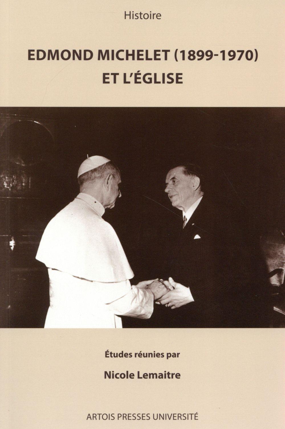 Edmond michelet et l eglise