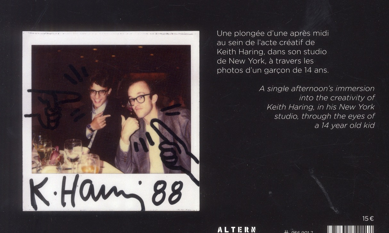 Keith Haring studio 30.10.1988