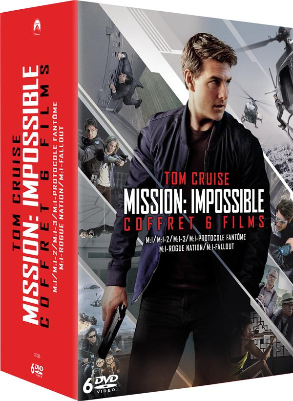 coffret mission : impossible 6 films