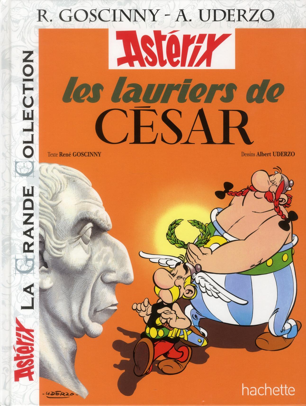 Astérix T.18 ; les lauriers de César
