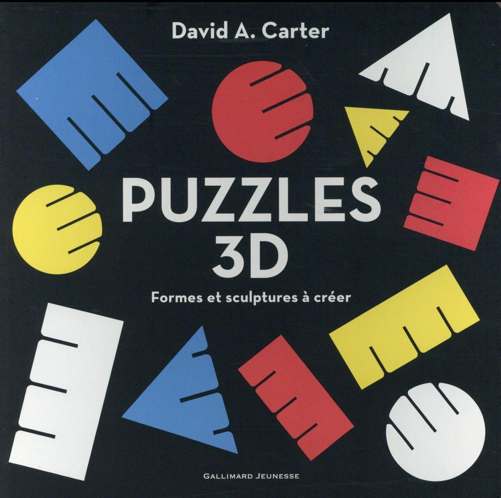 Puzzles 3d - formes et sculptures a creer