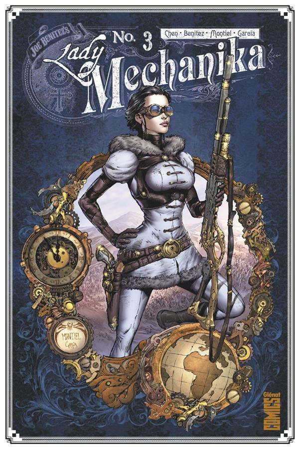 LADY MECHANIKA T.3  -  LES TABLETTES DU DESTIN