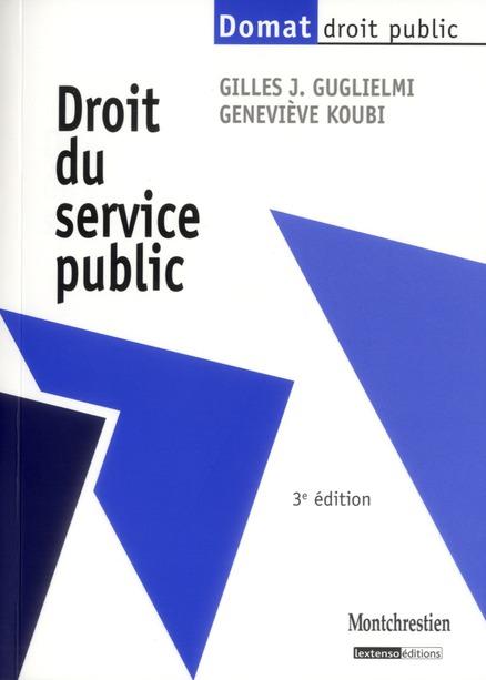 droit du service public (3e édition)