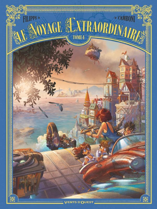 Le voyage extraordinaire T.4