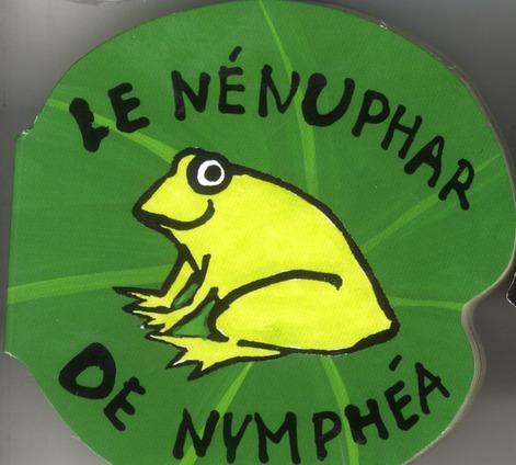 Vie en rond ; le nénuphar de nymphea