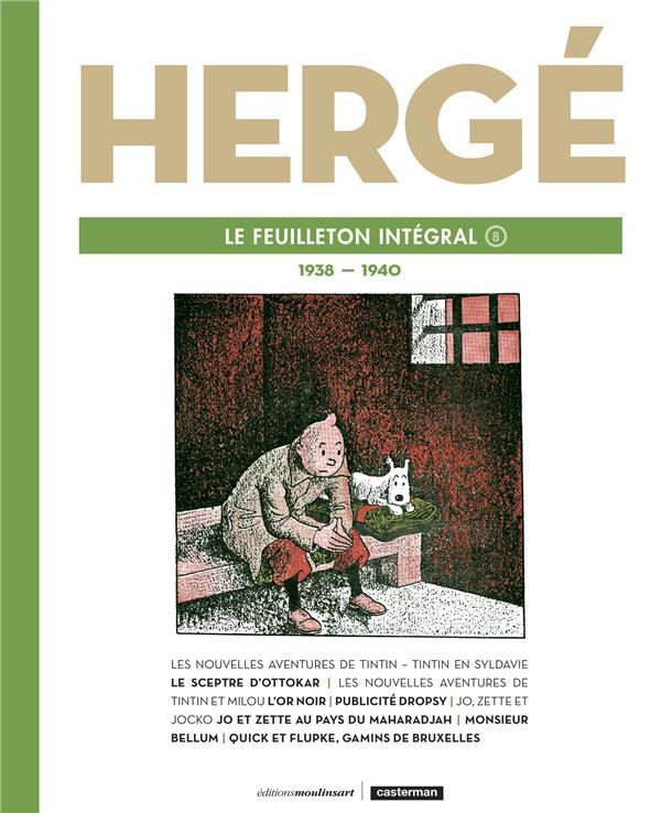 Hergé le feuilleton intégral t.8 ; 1939-1940