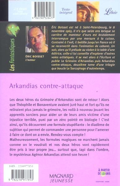 Arkandias T.2 ; Arkandias contre-attaque