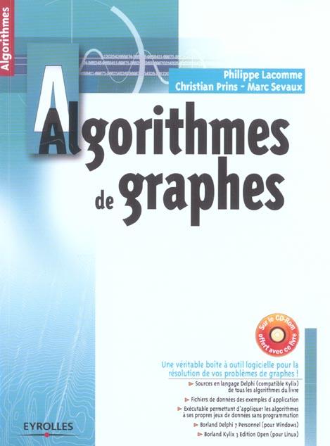 Algorithmes De Graphes 2eme Edition Avec 1 Cd-Rom