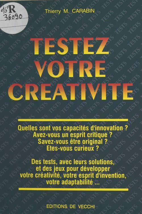 Testez votre creativite