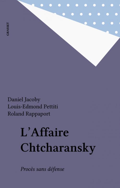 L'Affaire Chtcharansky