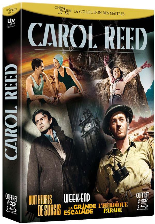 Carol Reed : Huit heures de sursis + Week-End + La grande escalade + L'héroïque parade