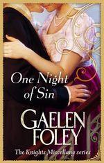 Vente Livre Numérique : One Night Of Sin  - Gaelen Foley
