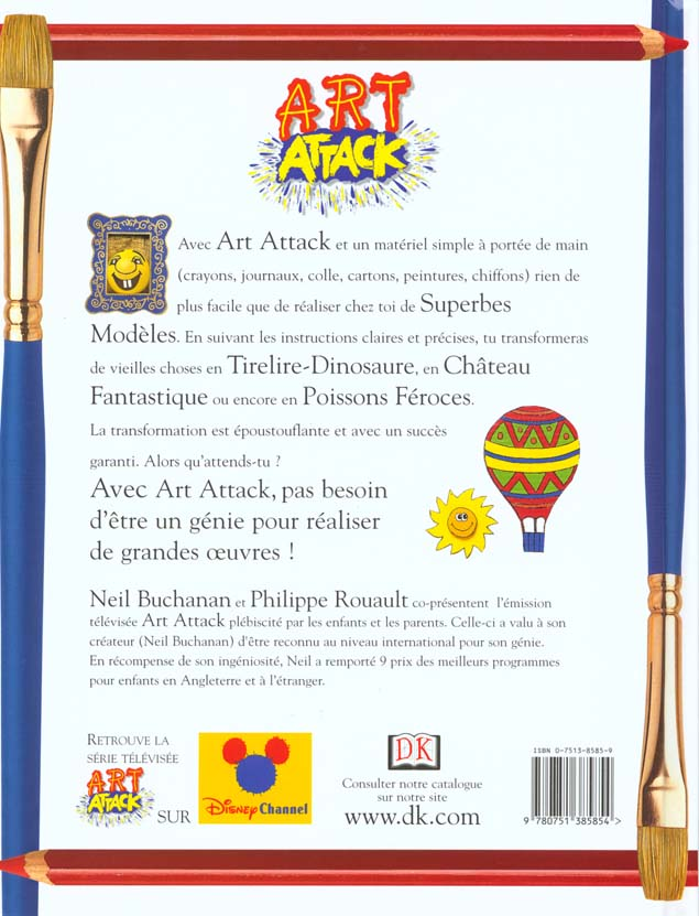 Art attack t.1 ; un livre pleins d'idées extraordinaires