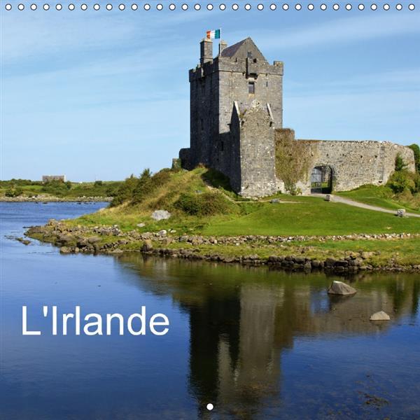 l'Irlande (calendrier mural 2017 Square)
