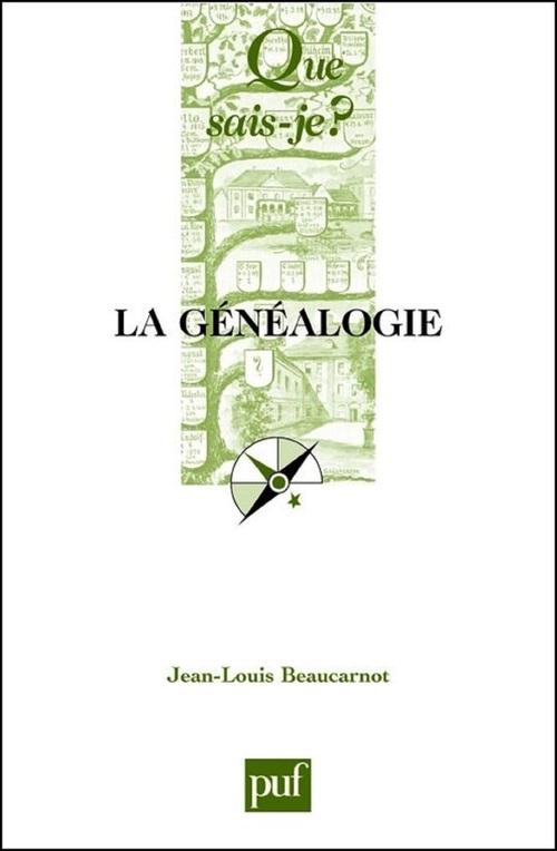 la généalogie (3e édition)