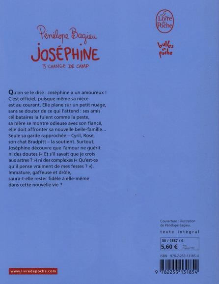 Joséphine t.3 ; Joséphine change de camp