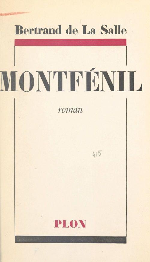 Montfénil  - Bertrand de La Salle