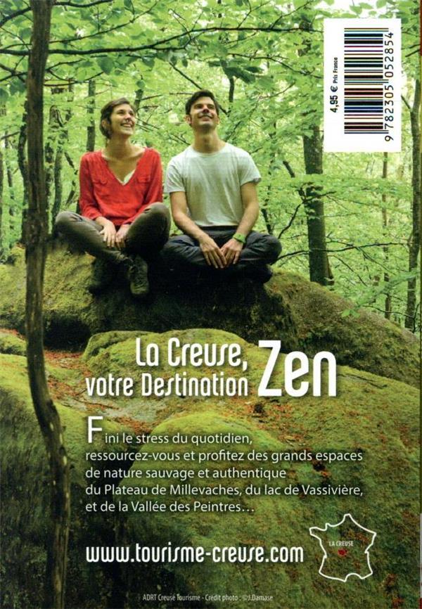 GUIDE PETIT FUTE ; CARNETS DE VOYAGE ; Creuse (édition 2021/2022)