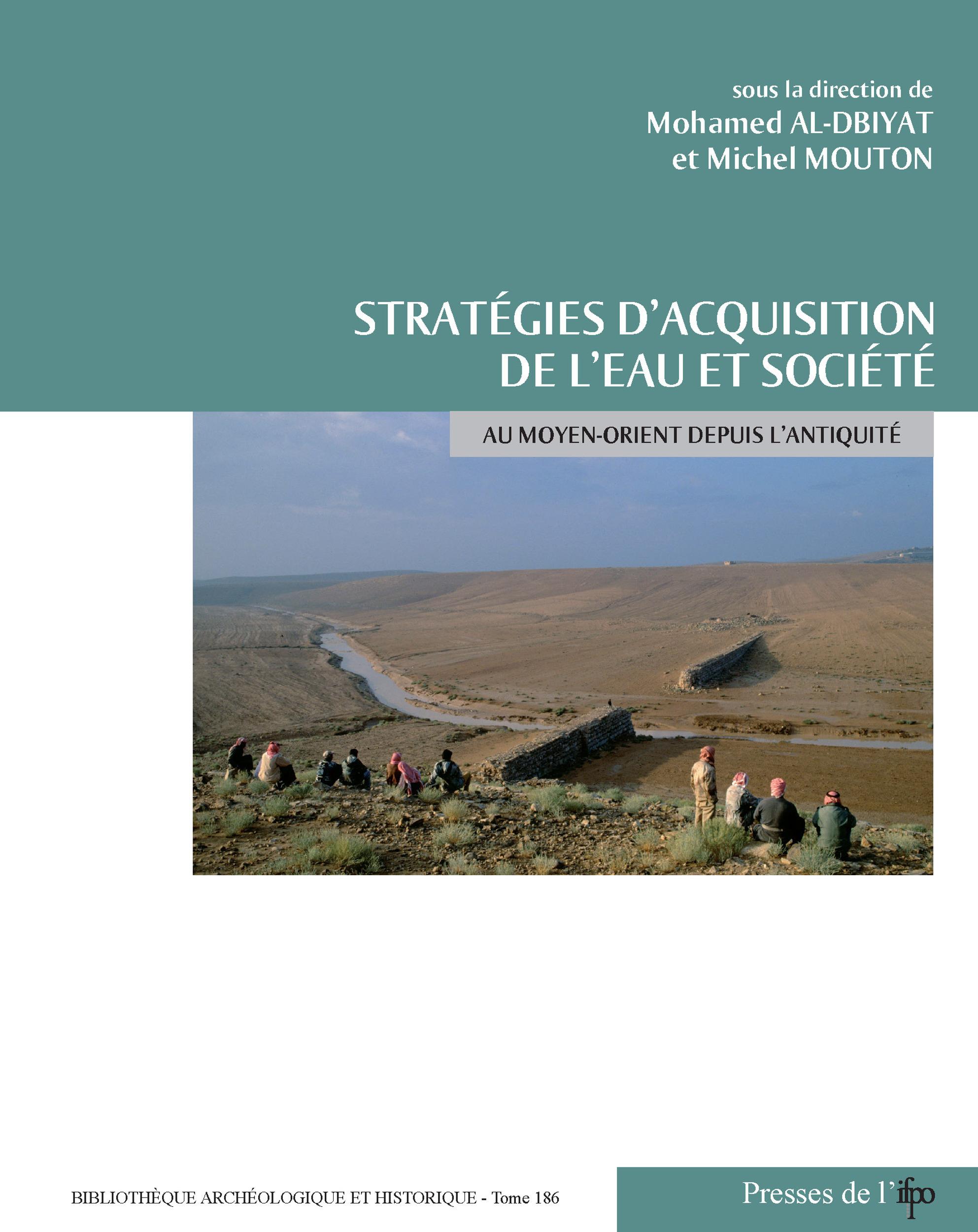 Stratégies d'acquisition de l'eau et société