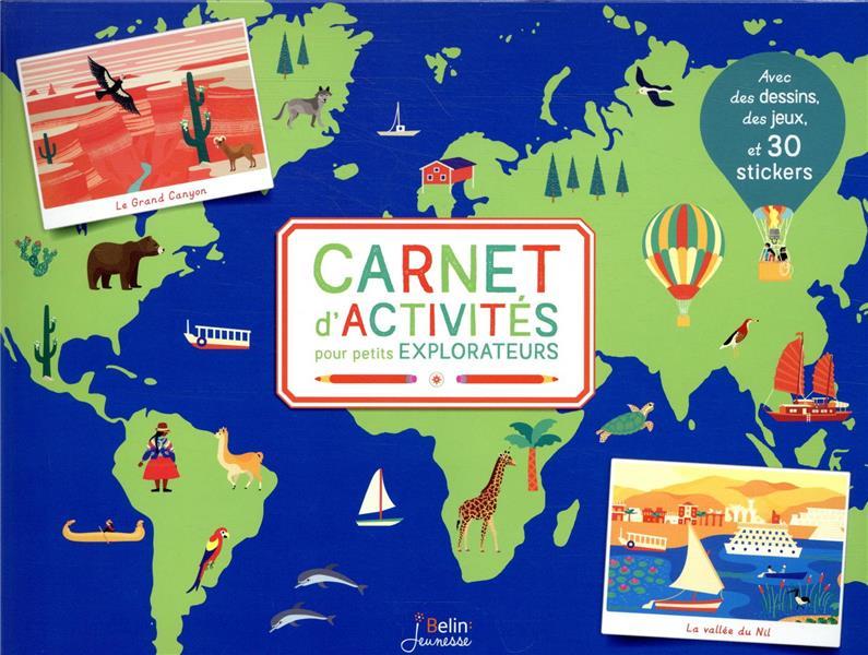 Carnet d'activités pour petits explorateurs
