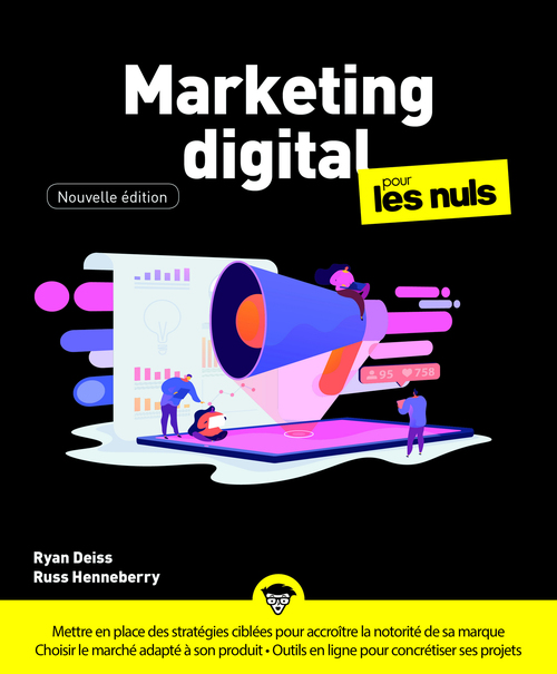 Vente E-Book :                                    Marketing digital Pour les Nuls, nelle éd. - Ryan Deiss  - Russ Henneberry