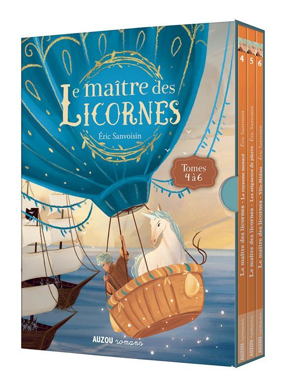 LA SAGA DES LICORNES - T02 - COFFRET TRILOGIE LE MAITRE DES LICORNES - TOMES 4 A 6