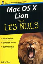 Vente Livre Numérique : Mac OS X Lion Poche Pour les Nuls  - Bob LEVITUS